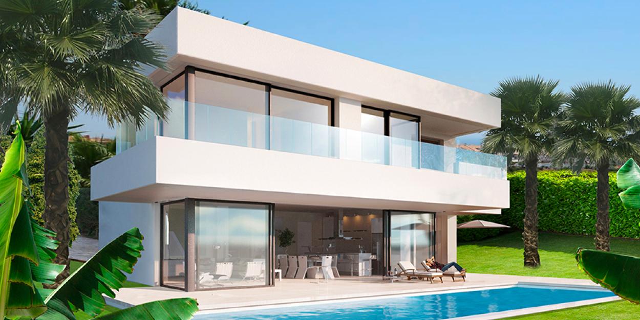 Villa i Spanien